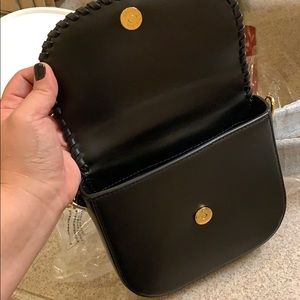 11ca667d3fae Michael Kors Bags - Michael Kors Whipstitched Leather Saddle Bag